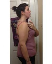 8 měsíců po vyšetření -29 kg